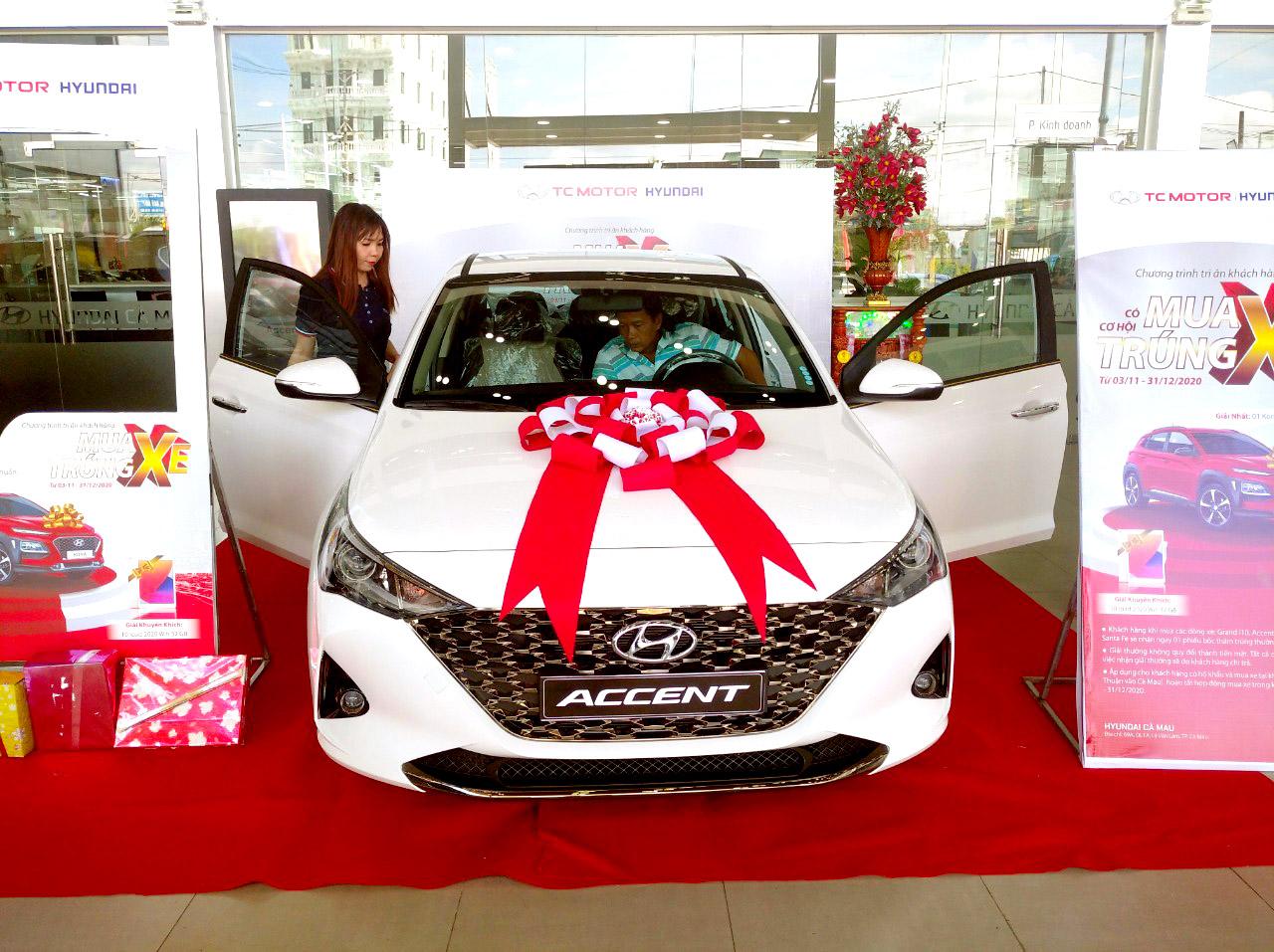 Hyundai Accent - hyundai Cà Mau